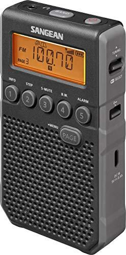Sangean DT-800 Pocketradio, Taschenradio, Mini-Taschenradio -Schwarz