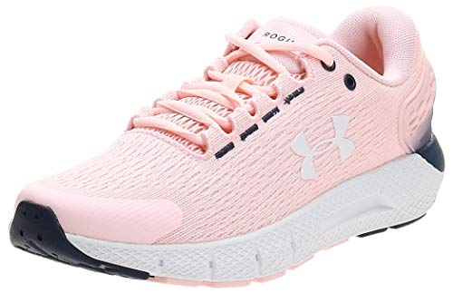 Under Armour Charged Rogue 2, Zapatillas para Correr Mujer, Peach Frost 600 Color Blanco, 38.5 EU