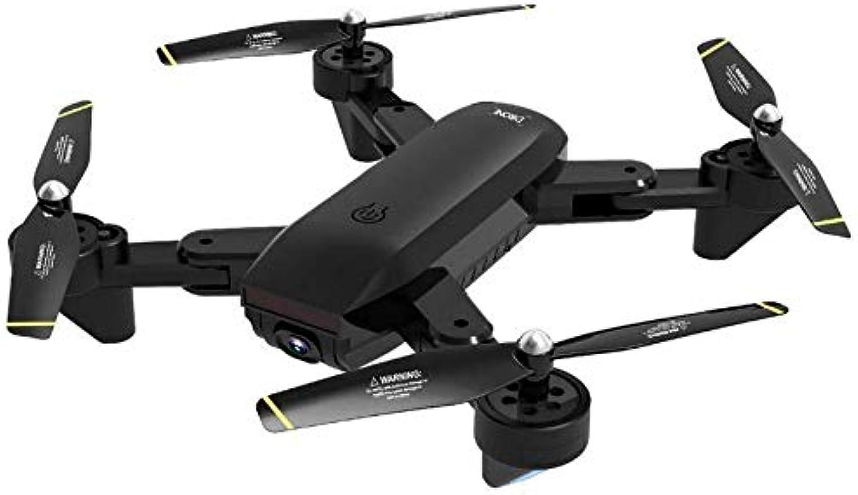 perfecto FODUIV Flujo óptico Plegable de Cuatro Ejes Aviones Aviones Aviones Drone RC con 1080P Drones Cámara 1600Mah WiFi RC Quadcopter Helicóptero Juguetes Negro  Envío y cambio gratis.