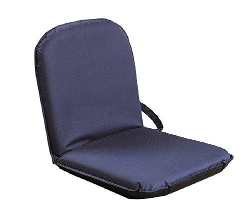SITZFIX, Bodensitzkissen, Bodenstuhl Outdoor mit verstellbarer Rückenlehne blau