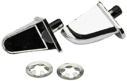 Absima – Rear Mirror Set tyb B Chrome (2) (2320022)