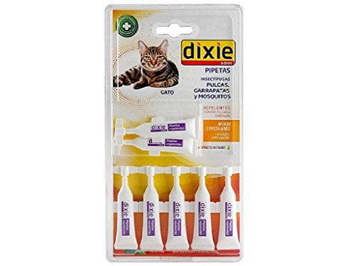 Dixie 1571260031 - Pack pipeta para Gato 7x1 ml