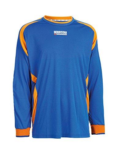 Derbystar Torwarttrikot Aponi, XXL, blau orange, 6668070670