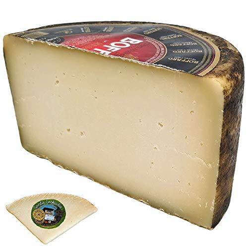 Queso de Oveja Viejo Boffard Reserva - Incluye Cuña Degustación Queso de Oveja Curado de REGALO - Elaborado con leche cruda de Oveja - Peso Aproximado 1,6 kg - Queso Viejo de Oveja
