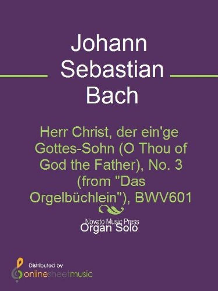 風邪をひくレルムドナウ川Herr Christ, der ein'ge Gottes-Sohn (O Thou of God the Father), No. 3 (from