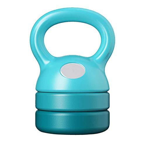 Kettlebell regolabile da 2.5 a 6 kg per soddisfare diverse esigenze di esercizio, ideale per allenamento completo e allenamento della forza del core