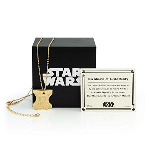 Star Wars Japor Snippet Necklace | Collectible Jewelry Pendant