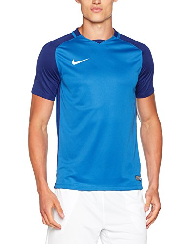 Nike Herren Trophy III Jersey Shortsleeve Trikot, Royal Blue/Deep Royal Blue/White, M