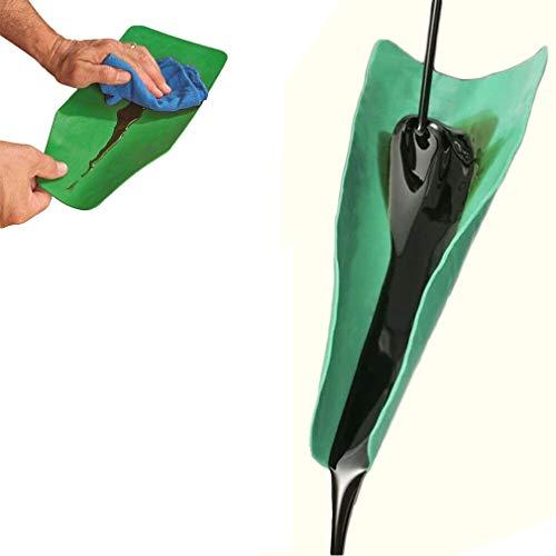 EEzyzy 2 Größen Flexibles Entleerungswerkzeug Funnel Flexible Oil DRAINING Funnel Tool (50x20cm)
