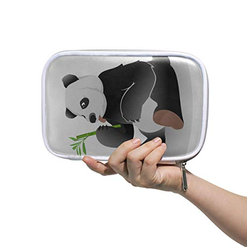 Petit Trousse De Toilette Gaint Panda Manger Bambou Cosmétiques Organisateur Sac Couleur Porte-Crayon Cas Multifonctionnel Maquillage Voyage Cas Pour Hommes Femmes