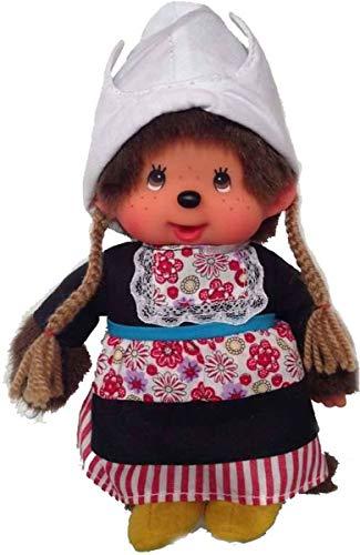 Sekiguchi 276400 - Monchhichi Néerlandais costume fille de 20 cm