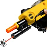 Laser Beam Sight for Salt Gun,Red Bug Beam for Fly Salt Gun 2.0 & 3.0 Insect Eradication Airsoft BB Pump Add-On Accessories(Only Accessories)