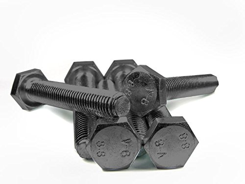 DIN 933 / ISO 4017 PROFI Sechskant Schraube Vollgewinde Güte 8.8 blank Stahl gehärtet - DIN933 PROFI 6kt VGW G8.8 BLK SGH - M14 x 50 (10 Stck)