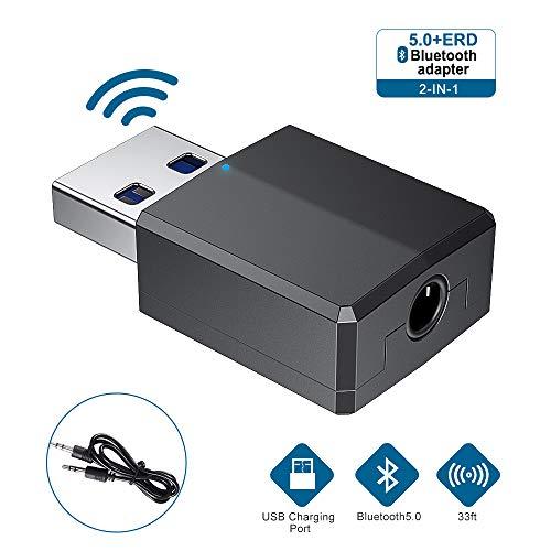 Adaptador Bluetooth, Adaptador Bluetooth 5.0 Dongle Transmisor Recepto