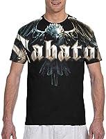 Sabaton Logo Mens T Shirt Novelty Graphic Cool T Shirts Tops