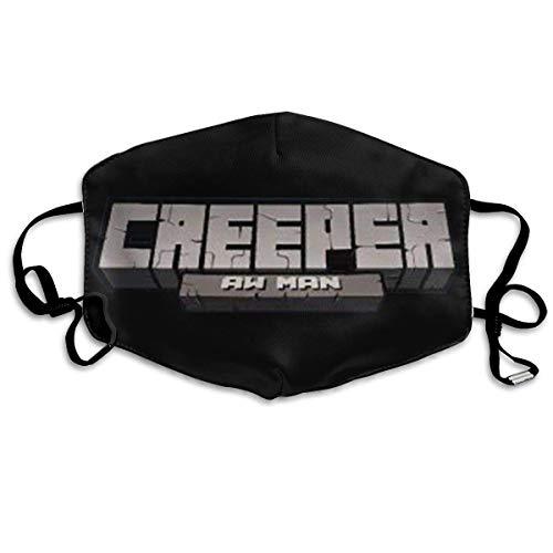 Fun Tee Unisex Multi Usage Gesichtsabdeckung Creeper Aw Man Atmungsaktiver Staubfilter Gesichts- und Mundabdeckung Gedruckt