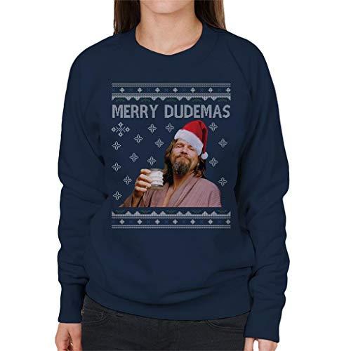 Cloud City 7 Merry Dudemas Big Lebowski Dude Christmas Women's Sweatshirt