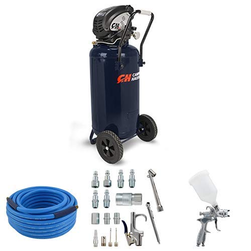Read About Campbell Hausfeld 26 Gallon Air Compressor and HVLP Spray Gun Kit