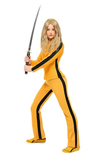 Women's Kill Bill Beatrix Kiddo Costume Authentic Kill Bill The Bride Costume Medium