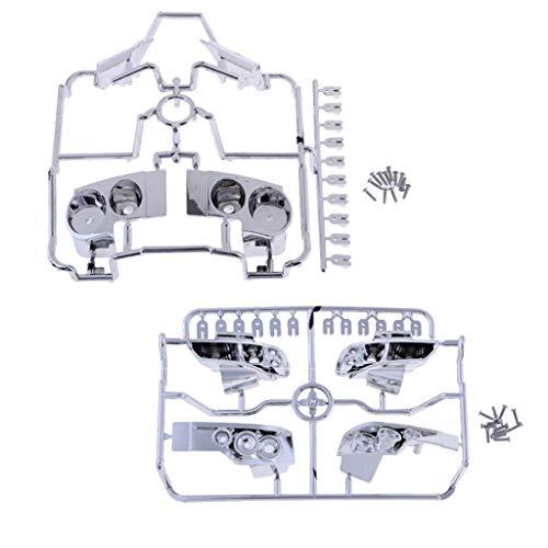 SM SunniMix Lampe de Corps S15 + R35 Pièces Upgarde 1/10 pour RC Électrique Voitures Nissan GTR R35