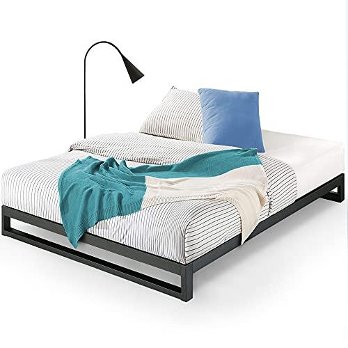 ZINUS Trisha Metal Platforma Bed Frame / Wood Slat Support / No Box Spring Needed / Easy Assembly,...