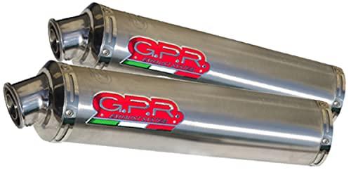 gpr hd.10.pt scarico omologato tondo poppy compatibile con harley davidson xr 1200 2008 2009 2010 2011 2012 mototopgun hd.10.pt