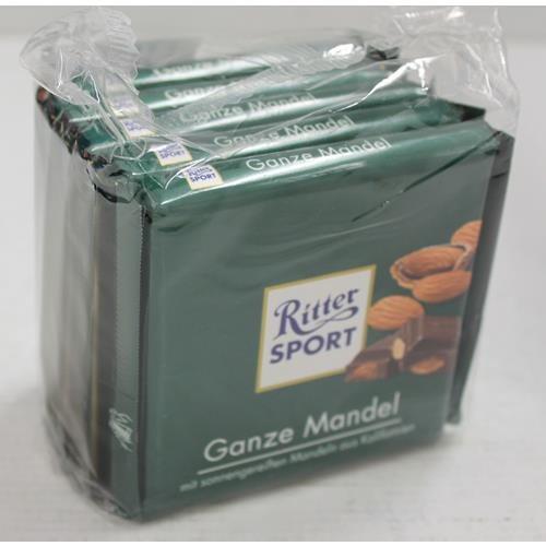 Ritter Sport Ganze Mandel - 5 x 100 Gr.