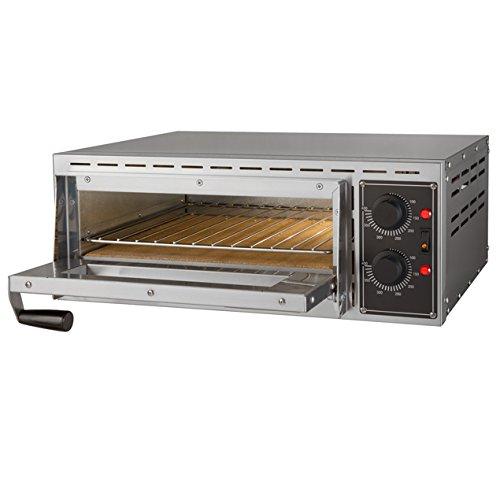 LUXEDA-Forno Elettrico Professionale Per Pizza - Griglia Inclusa - Potenza 1.5 Kw A 230V