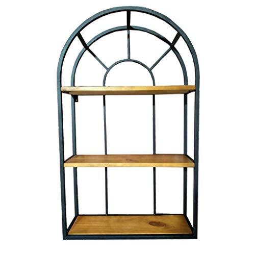 LLDBD Simple Shelf/Hierro Forjado Estante de Reparto Cocina