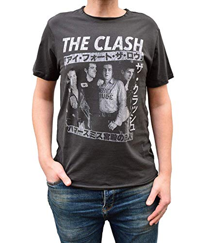 Amplified Shirt The Clash Tour Poster