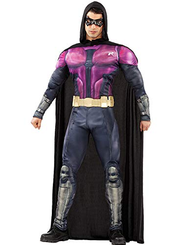 Funidelia | Disfraz de Robin - Arkham Knight Oficial para Hombre Talla M ▶ Chico Maravilla, Superhelden, DC Comics