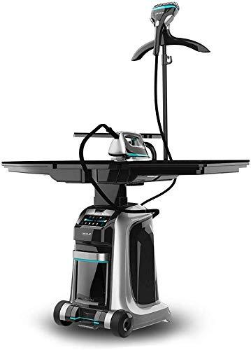 Cecotec Centro de Planchado Inteligente Total Iron 10100 Pro. Plancha Vertical y Horizontal, Succión e Inflado, 5 Programas...