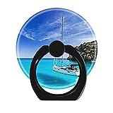 NSNNS - Agarre expansible para teléfono móvil, rotación de 360°, Agarre Plegable y Soporte para teléfonos y tabletas (Circular), Hermosa Menorca