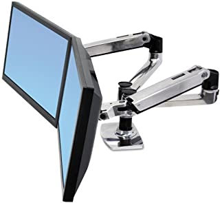 ERG45245026 - LX Dual Side-by-Side Arm for WorkFit-D Sit-Stand Desk by Ergotron