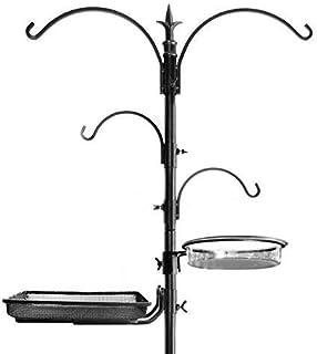 "Ashman Premium Bird Feeding Station Kit, 22"" Wide x 92"" Tall (82"" Above Ground Height), A Multi Feeder Hanging Kit and Bir..."