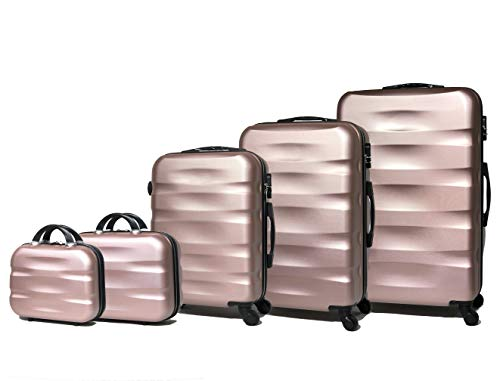 Celims French brand – Set of 5 hard material suitcases