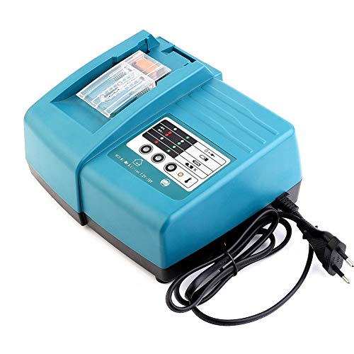 Ersatz-Lithium-Ladegerät 7,2V 18V DC18RC DC18RA für Makita-Akku BL1830 BL1840 BL1430