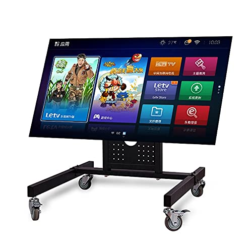 TANGIST Hyvarwey Rolling TV Monte Stand Stand Trolley 32-65inch Pantalla de Plasma LED Monitor LCD Monitor de Altura Baja Carro D750