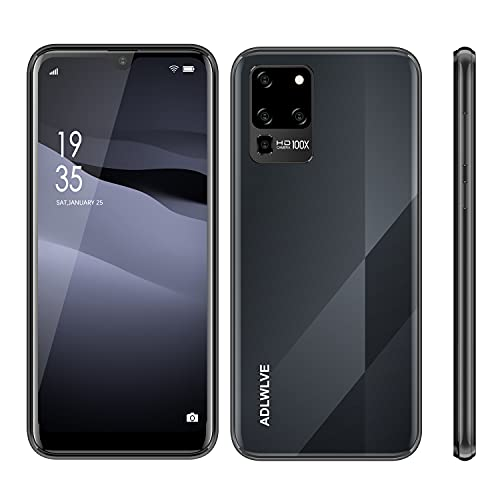 Smartphone Offerta Del Giorno 4G, Android 9.0 Cellulari 32GB ROM 3GB RAM, 6.3  HD- IPS Schermo Waterdrop Telefoni Cellulare, con Doppia Fotocamera & SIM Sblocco Viso Cellulari e Smartphone (nero)