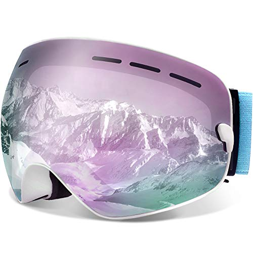 Juli Ski Goggles,Winter Snow Sports Snowboard...