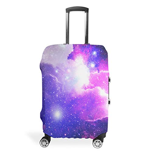 Travel Luggage Case Cover – Room Washable Luggage Cover 4 Sizes Suit Protective Suitcase, White (White) - BTJC88-scc