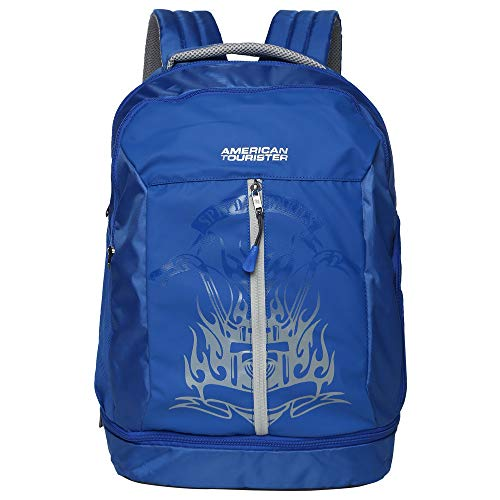 American Tourister Snap NXT 02 Blue Laptop Backpack