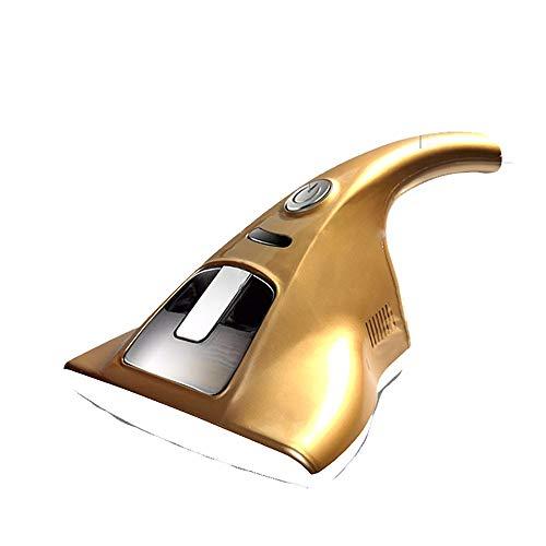 LAMCE Haushaltsmilbenentfernungsinstrument UV-Bettwäsche, Matratze, Sofa, Milbenentfernung, Mini-Staubsauger Gold