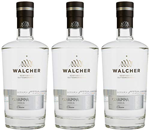 Walcher Grappa Bianca, 3er Pack