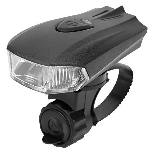 Qqmora Luz Delantera LED para Bicicleta, Reflector antideslumbrante, Taza, Faro Delantero para Bicicleta, lámpara Delantera para Bicicleta, para Seguridad en la conducción