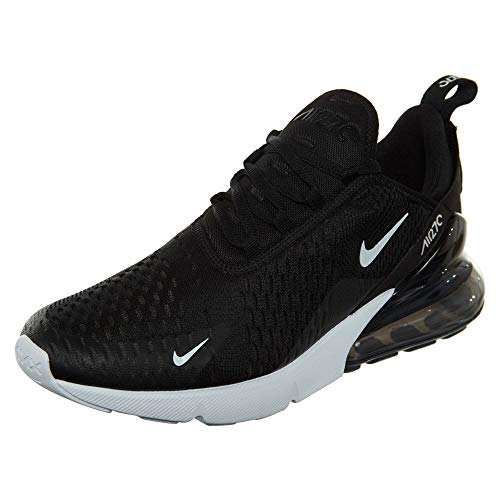 Nike Air Max 270, Scarpe da Corsa Uomo, Black/Anthracite/White/Solar Red, 44.5 EU