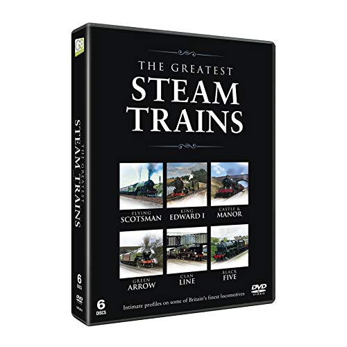 The Greatest Steam Trains 6DVD Set - Locomotives inlcuding The Flying Scotsman [UK Import]