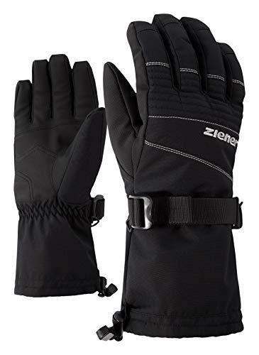 Ziener GANNIK AS(R) Glove ski Alpine Guante de Esquí, Hombre, Black, 8,5