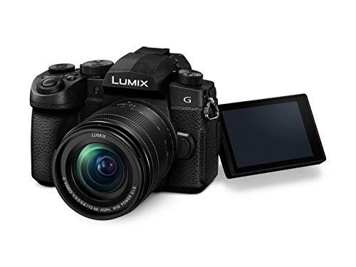Panasonic DC-G91MEG-K Systemkamera mit 12-60 mm MFT Objektiv, 20 MP, Dual I.S, 4K Fotokamera, schwarz & SanDisk Extreme Pro SDXC UHS-I Speicherkarte 128GB (V30, Übertragungsgeschwindigkeit 170 MB/s)