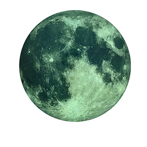 Vinilo Luminoso Luna Pegatinas Luminosas Para Dormitorio Pegatinas Luminosas Decorativas Para HabitacióN Infantil Pegatinas De Luna Fluorescentes Luminosas DecoracióN De La Pared Del Dormitori